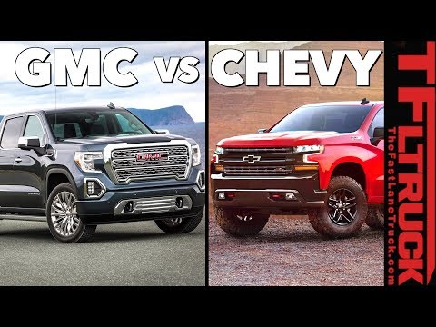 Gmc Vs Chevy >> 2019 Gmc Sierra 1500 Top 7 Ways It S Different From The
