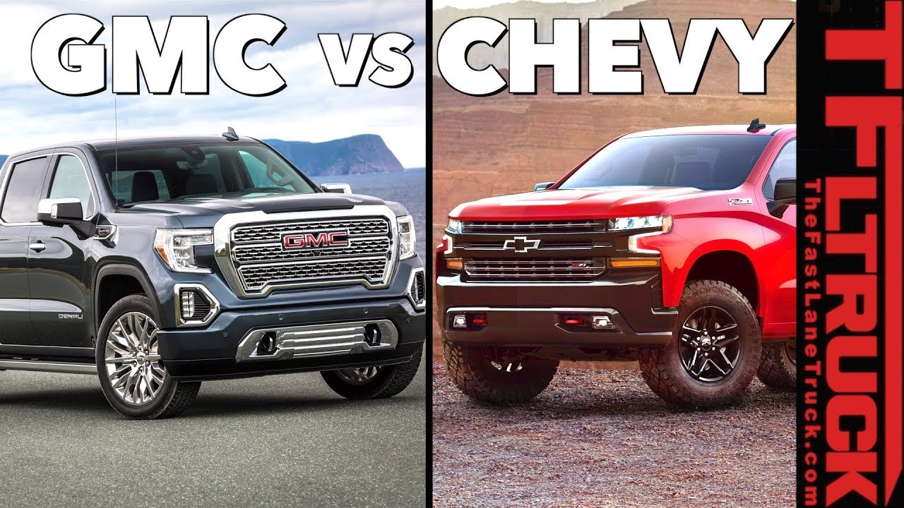 2019 Gmc Sierra 1500 Top 7 Ways It S Diffe From The Chevy Silverado