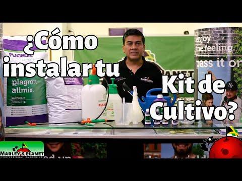 Instalación de tu KIT DE CULTIVO INDOOR