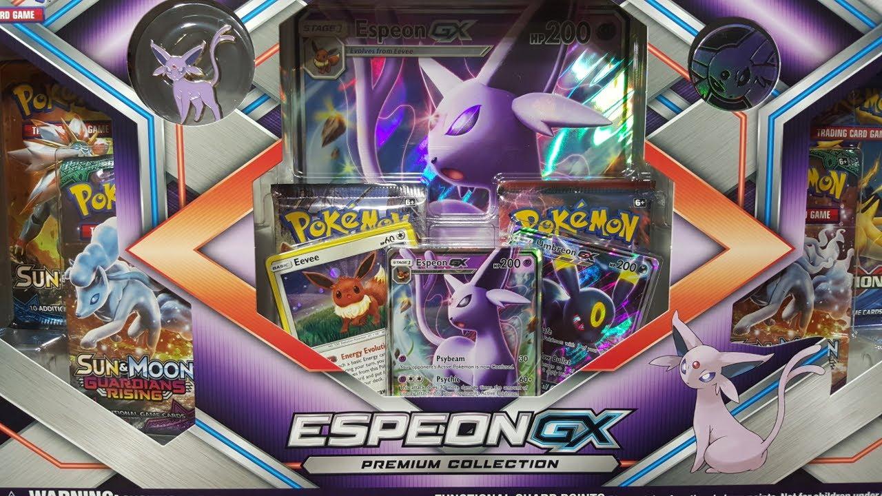 Pokemon Espeon /& Umbreon GX Premium Collection
