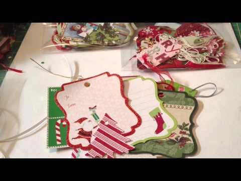 Christmas Tags Packets!  Another Craft Fair Idea...