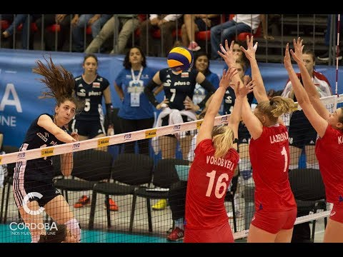 Russia vs Poland 2017 FIVB Women's U20 World Championship Pool E
