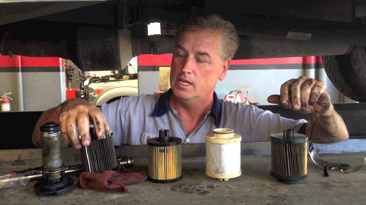 small resolution of fuel filters on the ford 6 0 powerstroke o e versus aftermarket youtube