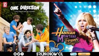 """One Direction vs. Hannah Montana - """"Live The Best Of Both Worlds While We"""
