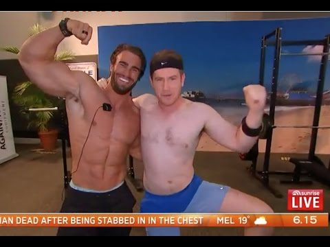 TROLLING NATIONAL TV! AUSSIE FIT EXPO