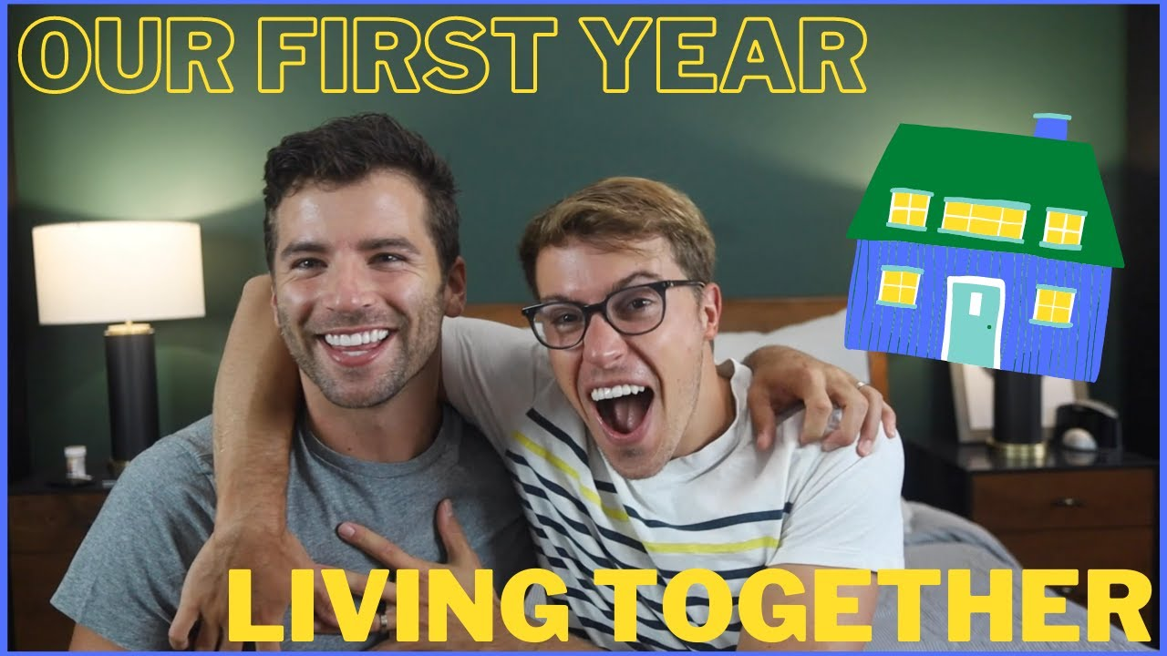 our first year living together (gay couple) | Taylor and Jeff