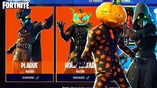 "*UNLOCK* the NEW ""HOLLOWHEAD"" + ""PLAGUE"" SKINS in Fortnite... (Fortnite Battle Royale - *NEW* SKINS)"