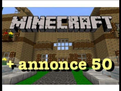 Minecraft Construction de fou annonce 50