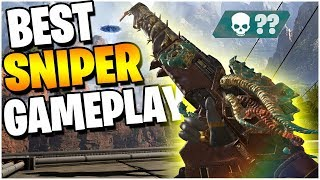 My BEST Sniper ONLY Gameplay *Not Armed and Dangerous* (Apex Legends PS4)