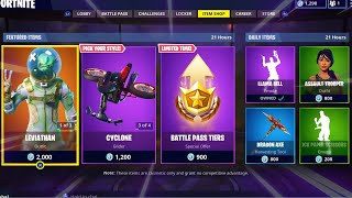 LEVIATHAN | WHITEOUT | OVERTAKER; Item Shop Update in FORTNITE #18/09/18