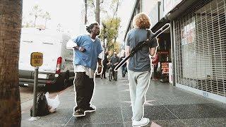 Mix - Crazy Homeless Man vs. Danny Duncan!