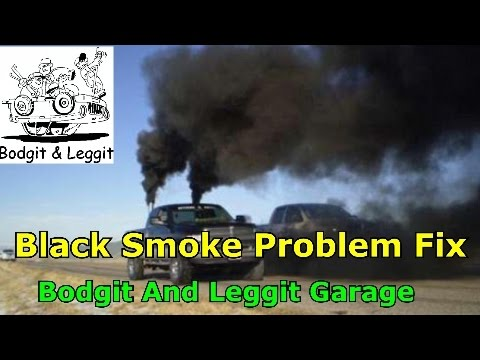 Black Smoke And No Power Problem Fix (ford Transit) bodgit and leggit garage