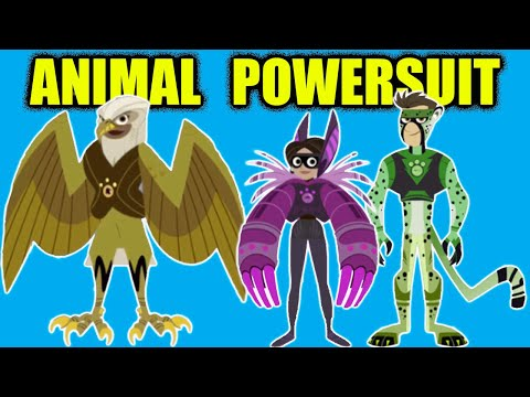 Wild Kratts Aviva Powersuit Maker Animal Game | Wild Kratts Martin And Chris PBS Kids Game