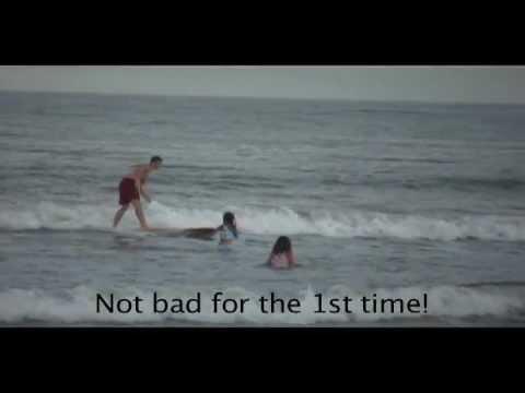 "Greg Surfing Jacksonville Beach, ""The Hut"", July 27, 2011 www.eastcoastsportrentals.com"