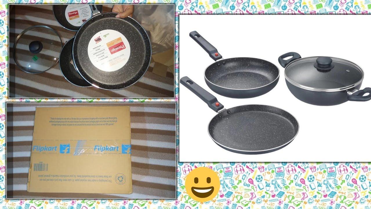 338fd95cf14 Flipkart Shopping-Prestige Omega mega Festival Pack Induction Bottom  Cookware Set(Aluminium3Pieces)