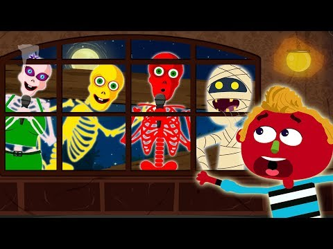Who's At The Haunted Window 👻 | Midnight Adventure Spooky Nursery Rhymes For Kids By Teehee Town