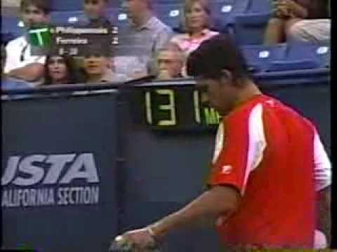Philippoussis vs Ferreira Los Angeles 2003