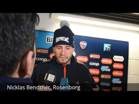 Nicklas Bendtner etter Sandefjord 5.4.17
