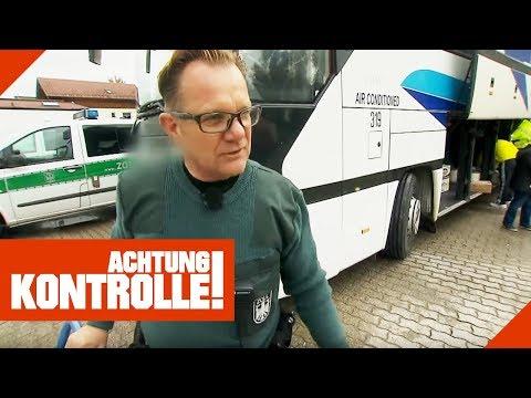 Zollkontrolle im Fernbus! Was findet der Zoll?   Achtung Kontrolle   kabel eins