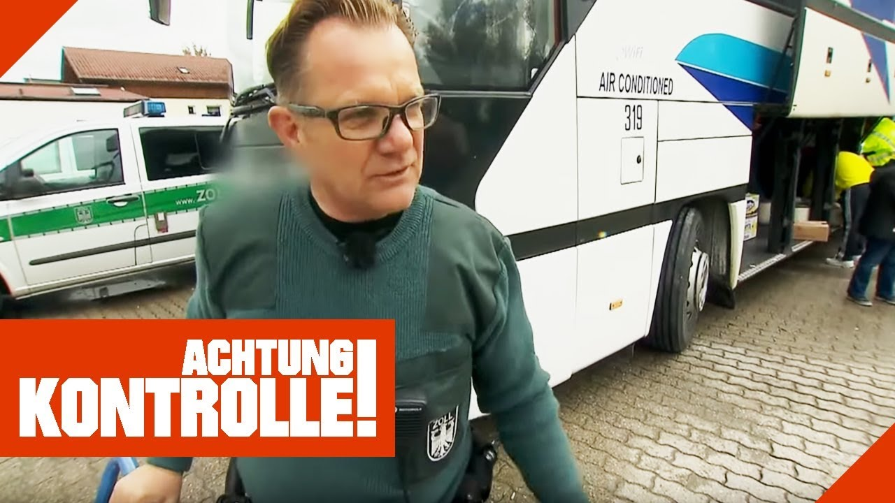 Achtung Kontrolle Zoll