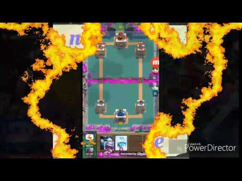 Nitzo flare- playing clash royal, we almost lost but this was still a weak match