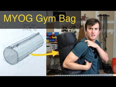 MYOG Gym Bag (Sew Along)