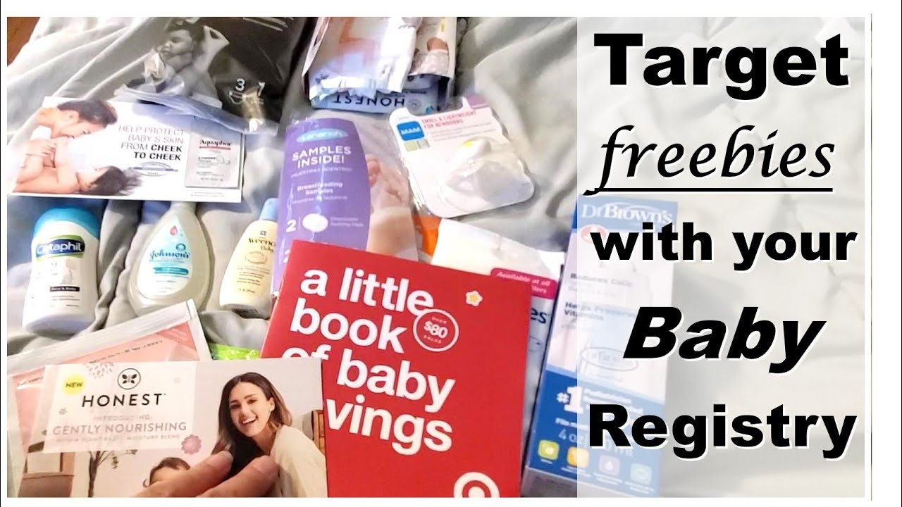 Target FREEBIES w/ your Baby Registry - YouTube