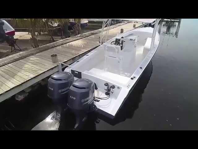 Captain Sharks Belize Wahoo 28 Boat