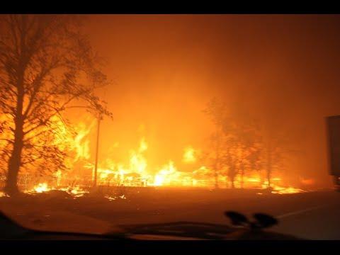 Огненный шторм в Забайкалье-Firestorm in the Trans-Baikal region
