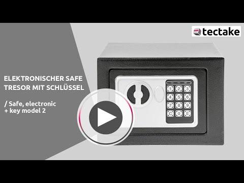 Elektronischer Safe; Tresor   Tectake