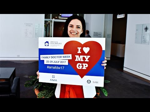 Family Doctor Week 2017 - Federal Labor MP, Emma Husar, loves her GP!