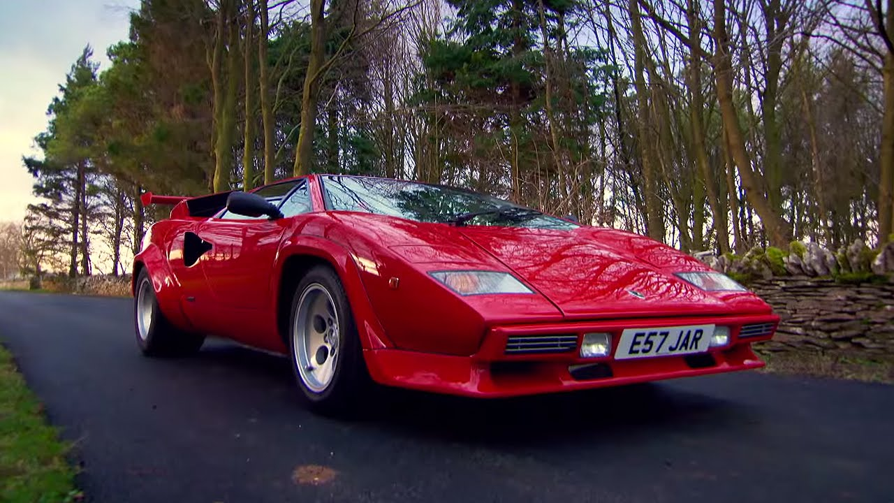 Lamborghini Countach Supercar   James Mayu0027s Cars Of The People   BBC Brit