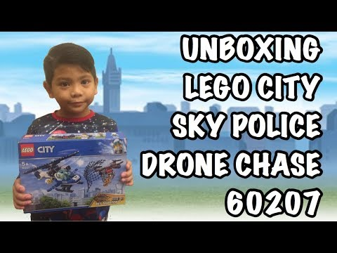 Sky Police Drone Chase Speed Build