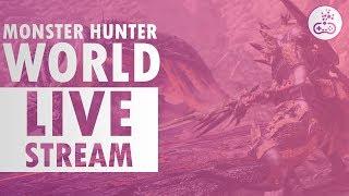 TIME TO HUNT!! Monster Hunter World [Livestream]