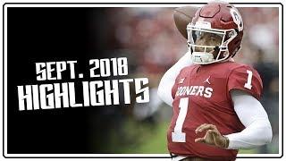 Kyler Murray Oklahoma QB September Highlights Montage || 1460 Yards, 21 TDs