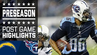 Chargers vs. Titans | Game Highlights | NFL