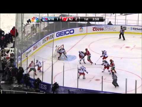 New Rangers vs New Jersey Devils winter classic highlights