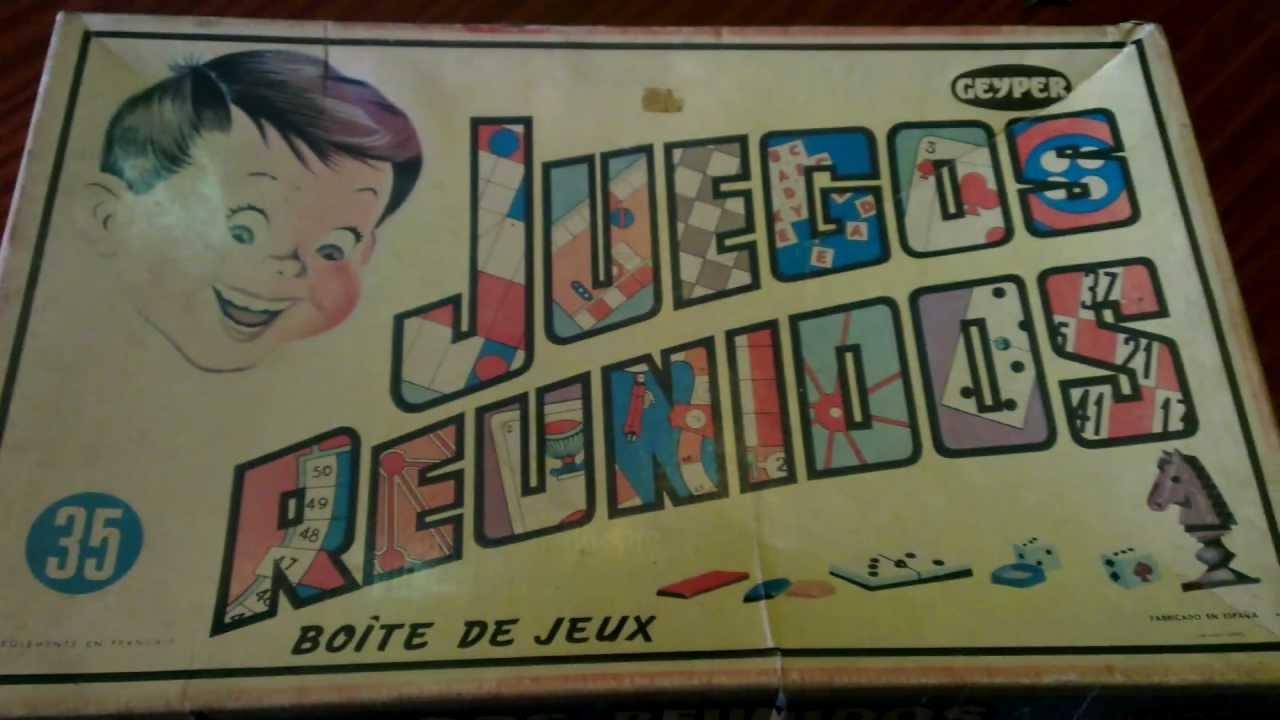 Review Juegos Reunidos 35 Boite De Jeux Geyper Youtube