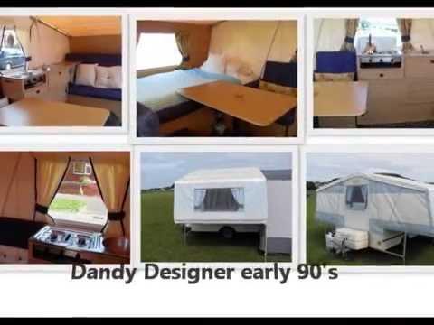 Dandy Trailer tent identification & Dandy Trailer tent identification - YouTube
