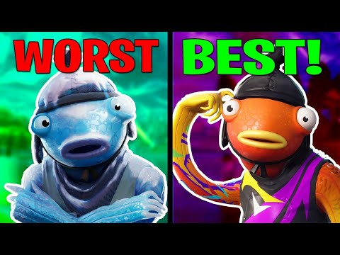 Ranking EVERY Fishstick From Worst To Best