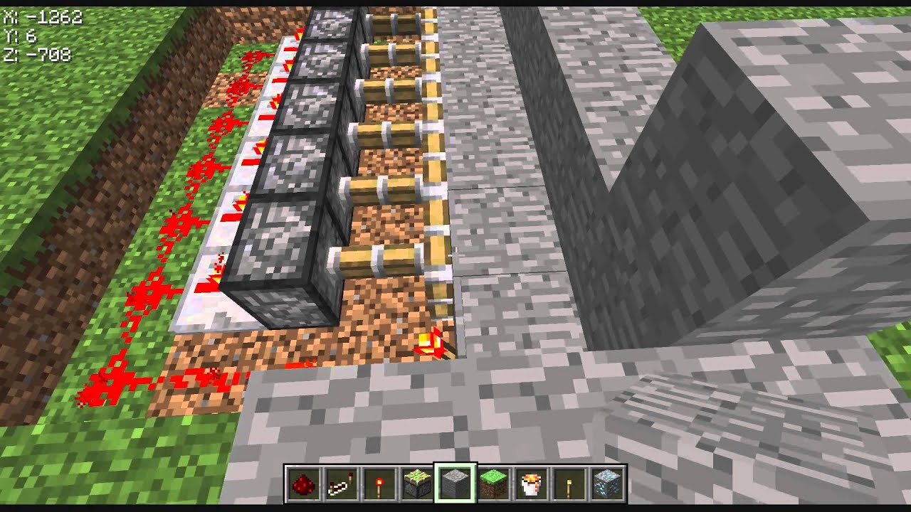 Minecraft lava falle bauen german hd youtube