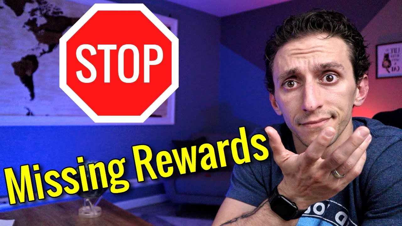 STOP Missing Out On CREDIT CARD REWARDS