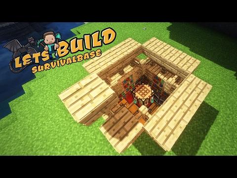 Super EINFACHE und KLEINE SURVIVAL-BASE in Minecraft!