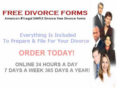 Form The Uncontested Divorce Process Without Children Packet     Pinterest        terminate