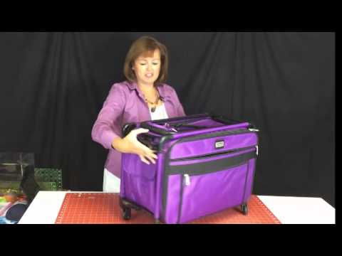 Best Sewing Machine Carrier By Tutto YouTube Beauteous Sewing Machine Bags On Wheels