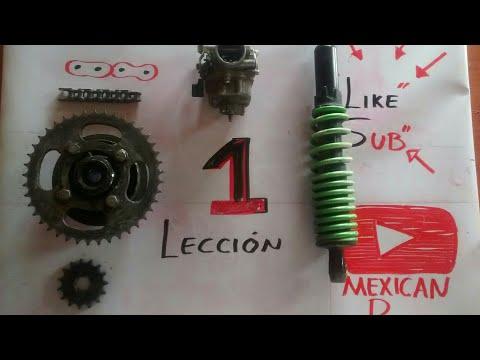 Curso de mecánica para motos GRATIS ( lección 1 ) elementos de una motosicleta