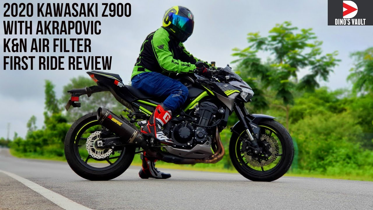 video Kawasaki Z900