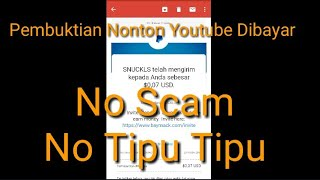 Asli Dan Nyata Dibayar Pakai Dollar Hanya Nonton Video Youtube