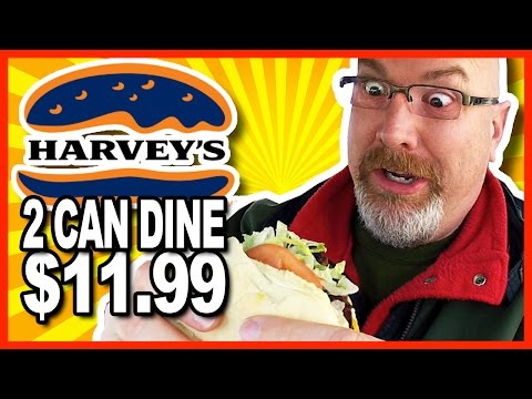 Harvey's 2 Can Dine for $11.99 Challenge and Review - 2600 CALORIES