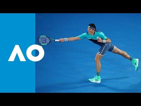 Stan Wawrinka V Milos Raonic Match Highlights (2R) | Australian Open 2019